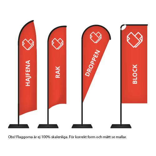 Beachflagga_standard_modeller